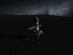 Shelbus Kerman on the Mun 7 Mission